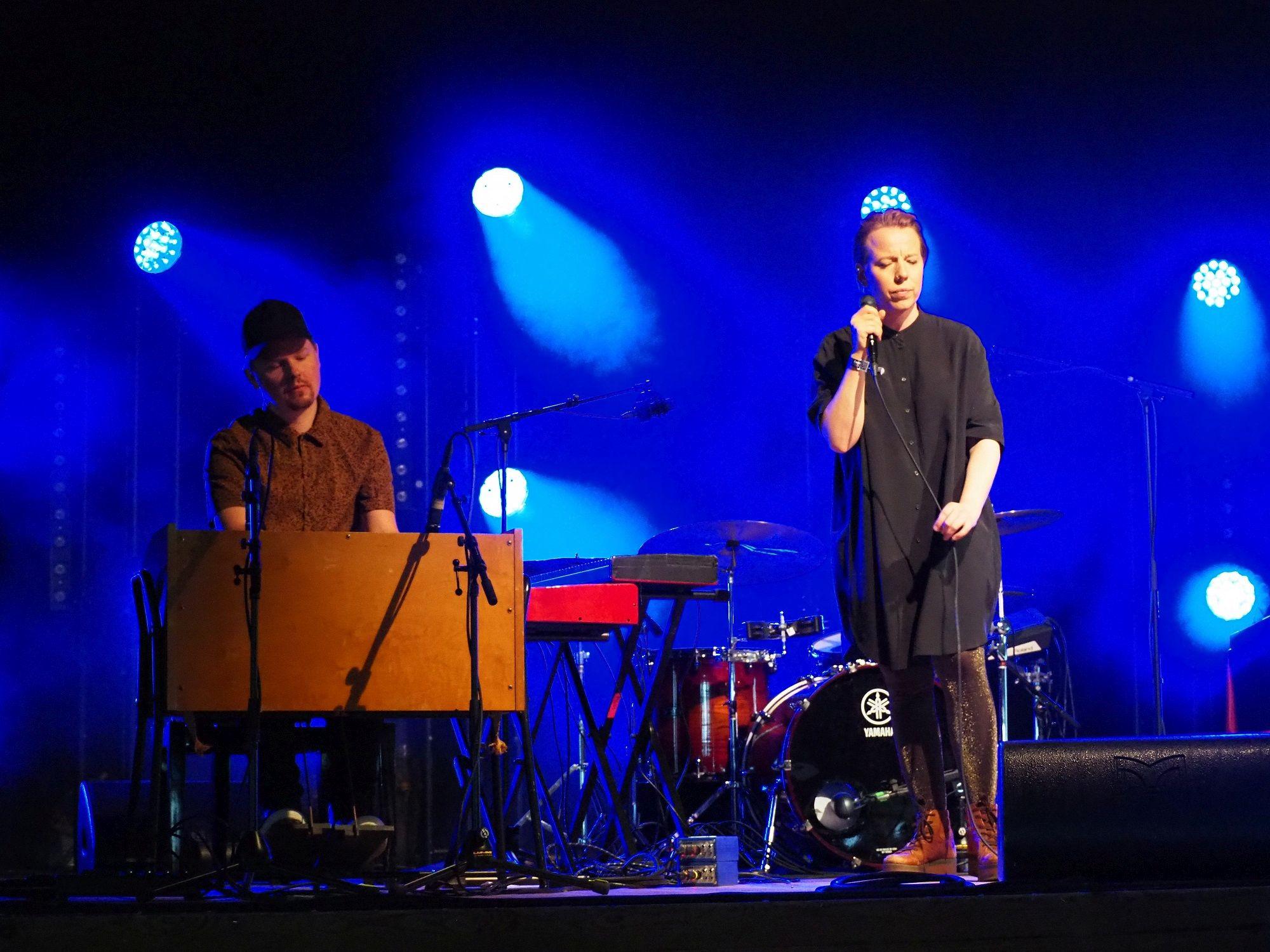 Järvelä ja Tyni vähäeleisinä. Kaustinen Folk Music Festival