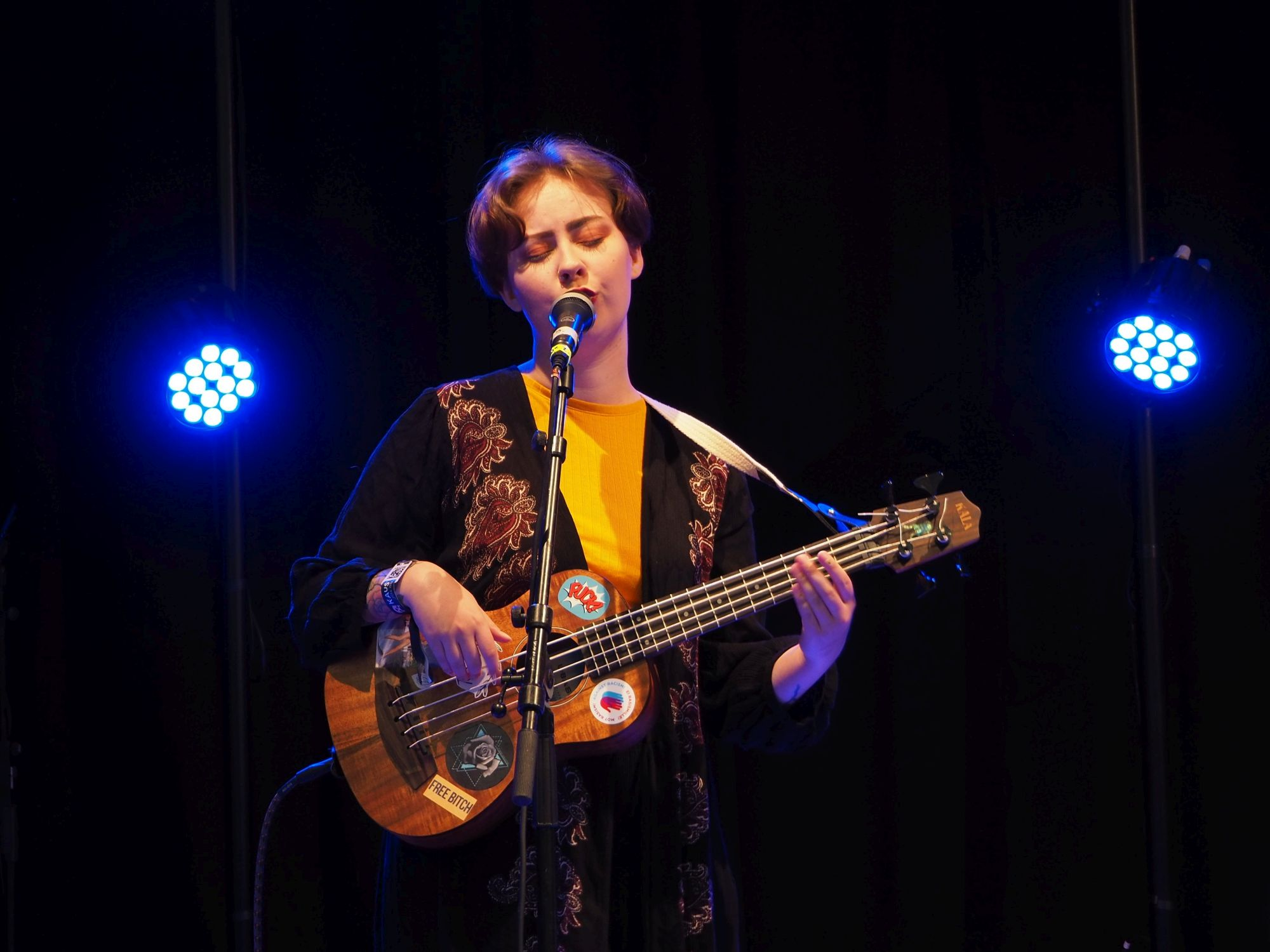 Katja Lundell. Kaustinen Folk Music Festival